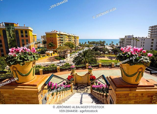 Casa Los Navajas, Torremolinos. Malaga province Costa del Sol. Andalusia Southern Spain, Europe
