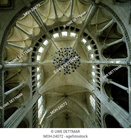 Soissons, Kathedrale/ Chorgewölbe