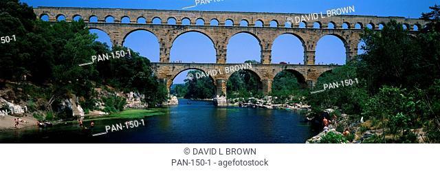 Pont du Gard Roman Aqueduct, Provence, France