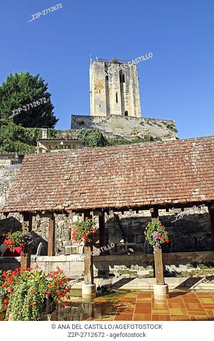 Les Lavoirs ancient whashing place in Bordeaux Saint-Emilion France