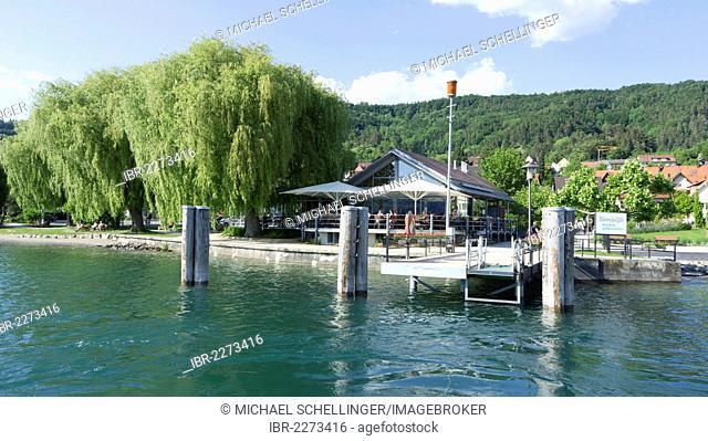 Harbour of Sipplingen, Lake Constance, Lake Constance region, Baden-Wuerttemberg, Germany, Europe