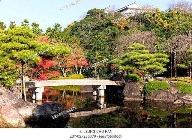 Kokoen Garden at autumn