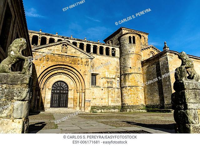 Collegiate Church of Santa Juliana in Santillana del Mar, Cantabria, Spain