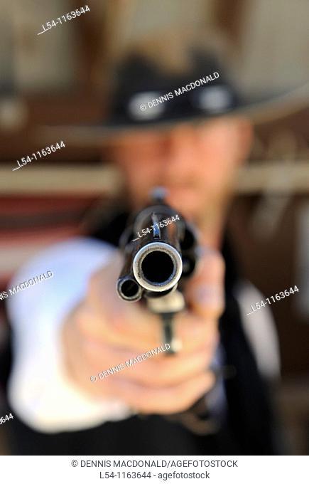 Pointed Gun Tombstone Arizona