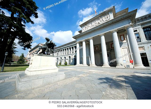 west access in the Prado Museum, Madrid, Spain
