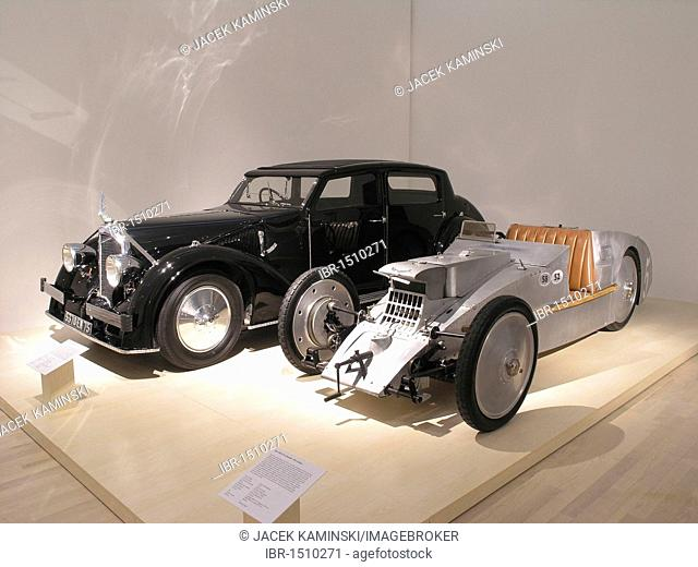Avion Voisin, Mitomacchina exhibition, Museum of Modern Art, MART, Rovereto, Italy, Europe