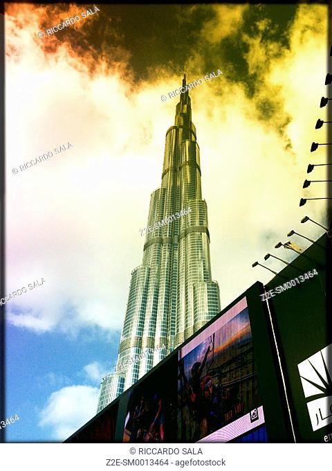 United Arab Emirates, Dubai Burj Khalifa Skyscraper