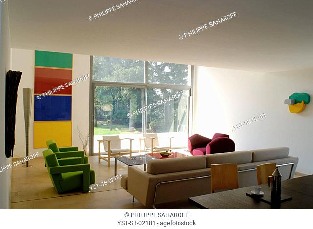 Living Room, Nîmes, France