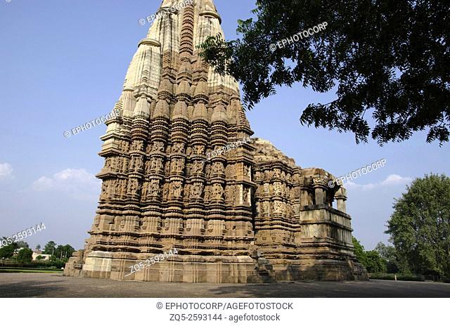 DULADEO TEMPLE: Facade - General View, Southern Group, Khajuraho, Madhya Pradesh, India, UNESCO World Heritage Site