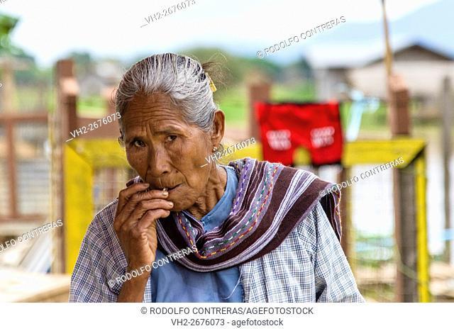 Woman around Inle Lake, Myanmar