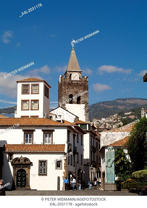 Funchal, city centre, Portugal, Madeira.1015