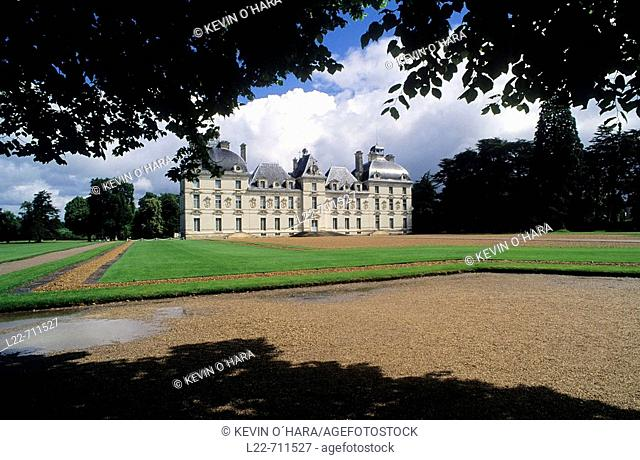 Castle of Cheverny. Indre-et-Loire. Centre Region. France