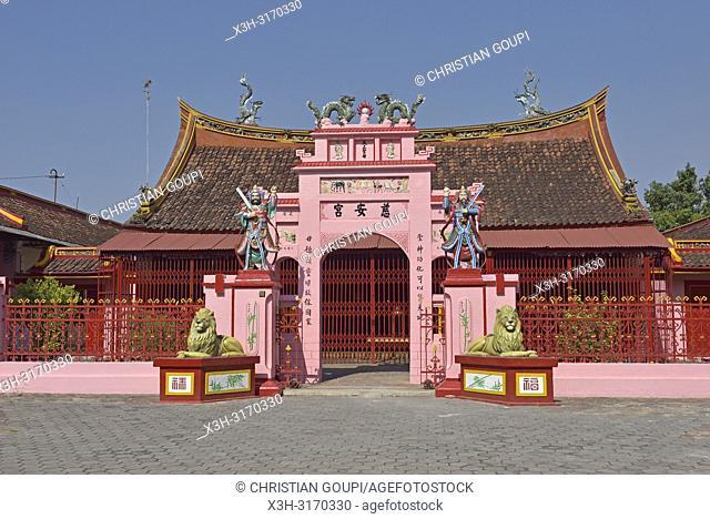 Cu An Kiong Chinese Temple, Lasem, Java island, Indonesia, Southeast Asia