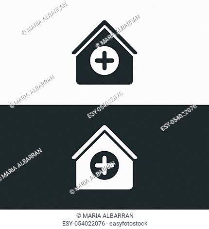 Medical home kit icon. Medicine equipment. Pharmacy vector illustration