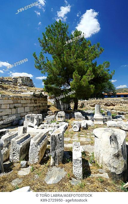Aphrodisias Theater. Ancient Greece. Asia Minor. Turkey