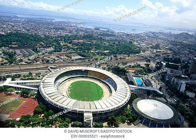 Maracana stadium. Rio de Janeiro. Brazil