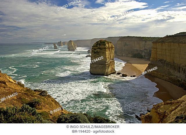 12 apostels coast in south australia near port campell, Victoria, Australia