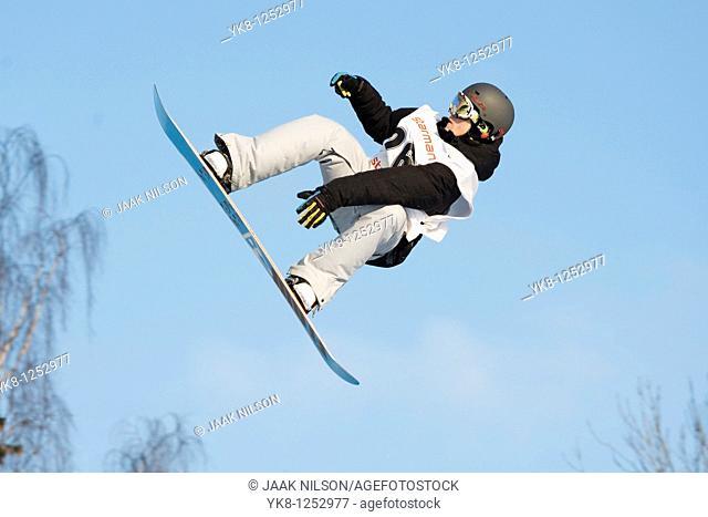FIS European Championship in Snowboarding 2009, BIG AIR, at Väike-Munamägi, Valga County, Estonia