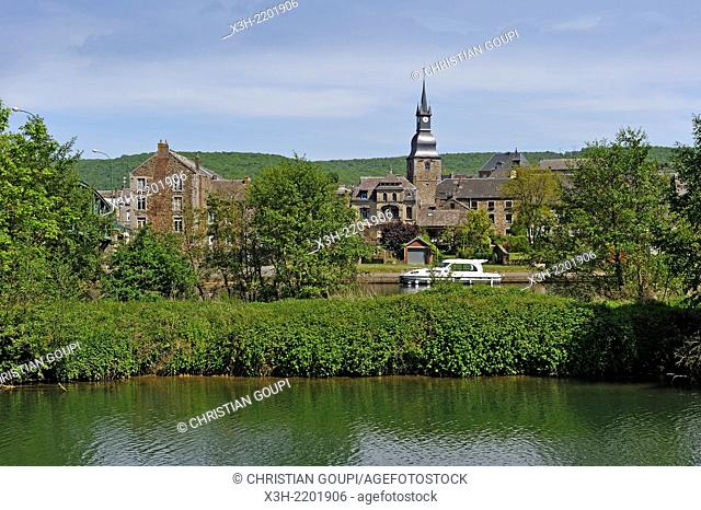 by the Meuse River at Vireux-Wallerand, Ardennes department, Champagne-Ardenne region of northeasthern France, Europe