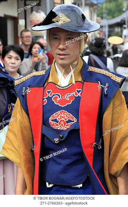 Japan, Gifu, Takayama, festival, people, man, portrait,