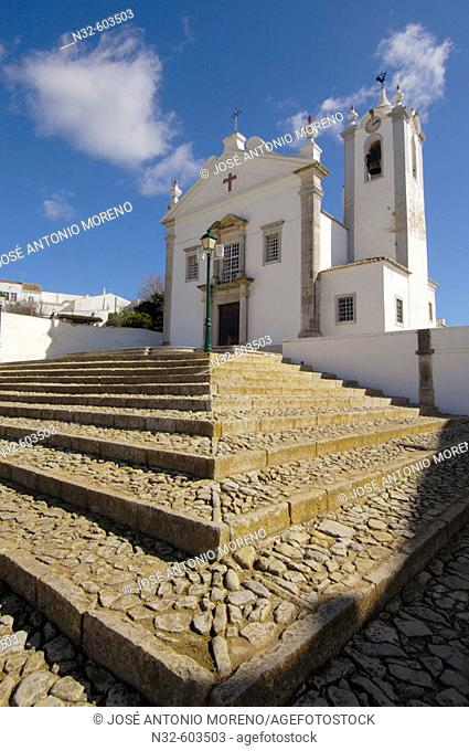 San Martin church, Estoi, Faro. Algarve, Portugal