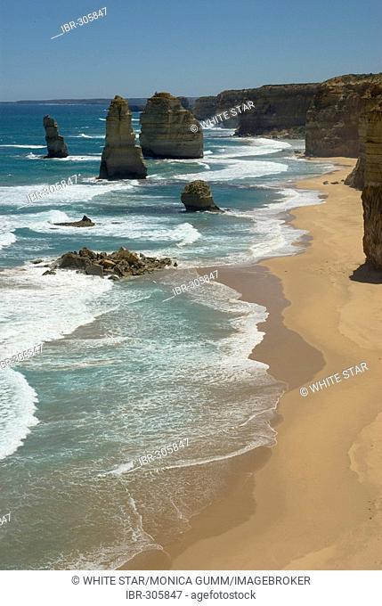 Great Ocean Road, The Twelve Apostles, Southern Ocean, Victoria, Australia