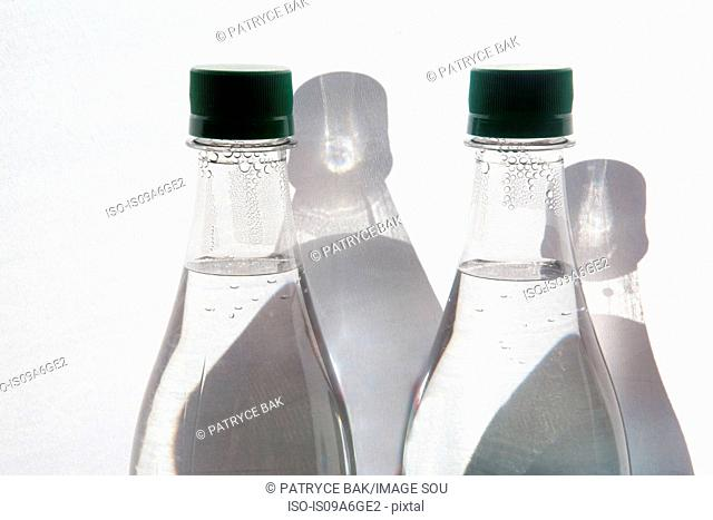 Two bottles of mineral water