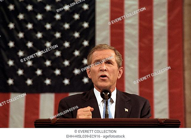 President George W. Bush announced that 'Our war on terror begins with Al Qaeda, but it does not end there. It will not end until every terrorist group of...