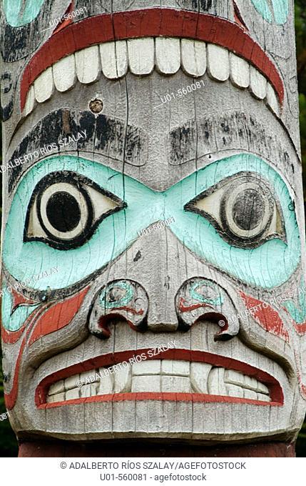 Totem Ketchikan Alaska USA