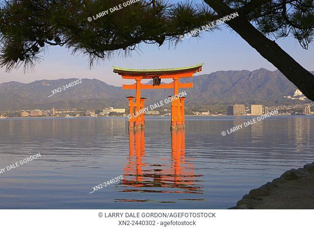 The ''Floating Torii Gate'' at Itsukushima Island. Japan