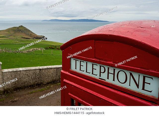 United Kingdom, Northern Ireland, County Antrim, tip Torr near Ballycastle