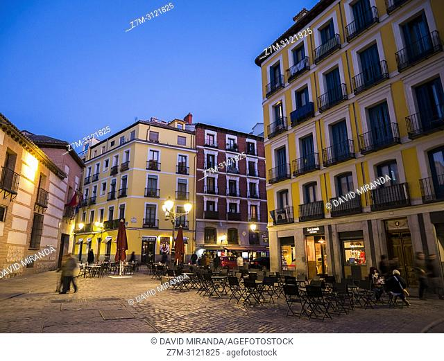 Plaza de San Andrés. Madrid, Spain