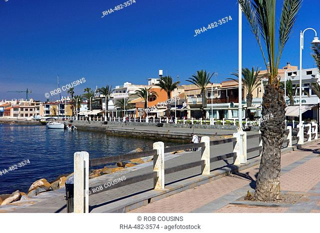 The harbour at Cabo de Palos, Murcia, Spain, Mediterranean, Europe