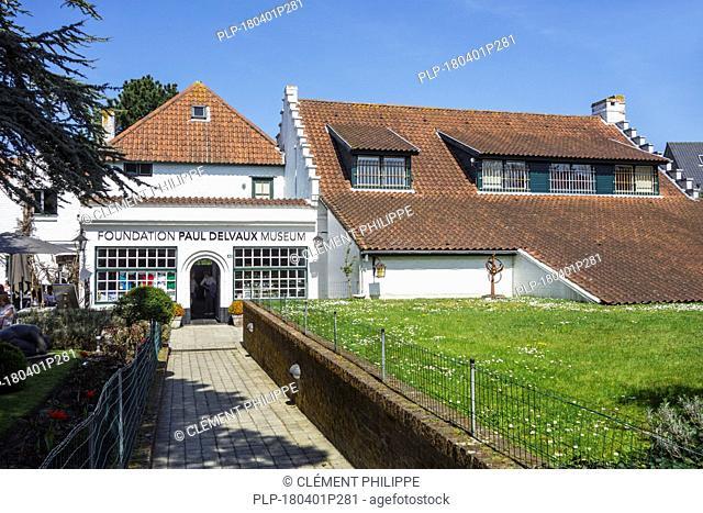 Paul Delvaux Museum / Het Vlierhof at Sint-Idesbald / Koksijde / Coxyde, West Flanders, Belgium
