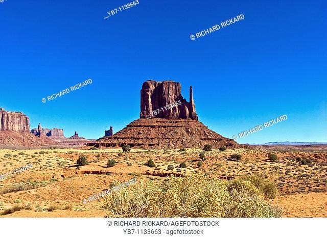 Monument Valley  Arizona, Usa