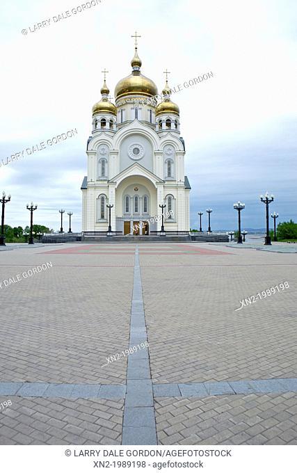 Church of Transfiguration. Khabarovsk. Russia