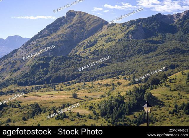 Tena valley from Formigal Huesca Aragon Spain