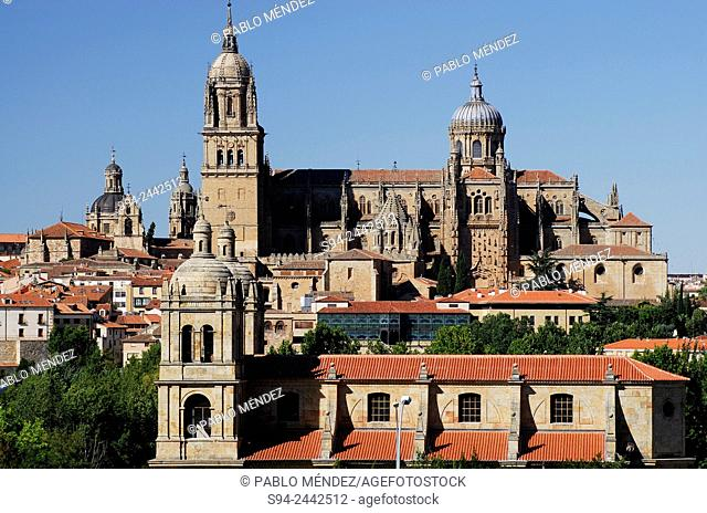 General view of Salamanca city, Spain