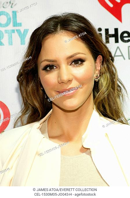 Katharine McPhee at arrivals for iHeartRadio Summer Pool Party, Caesars Palace, Las Vegas, NV May 30, 2015. Photo By: James Atoa/Everett Collection