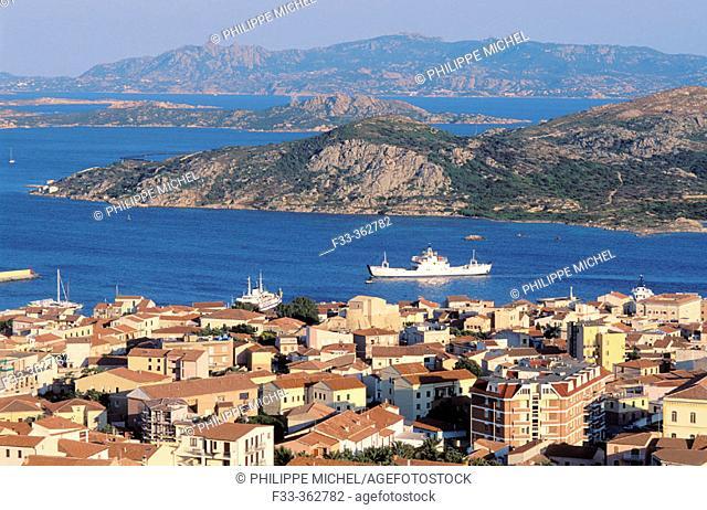 Maddalena island- Maddalena archipelago - International Marin park of 'Bouches de Bonifacio' - Sardinia - Italy