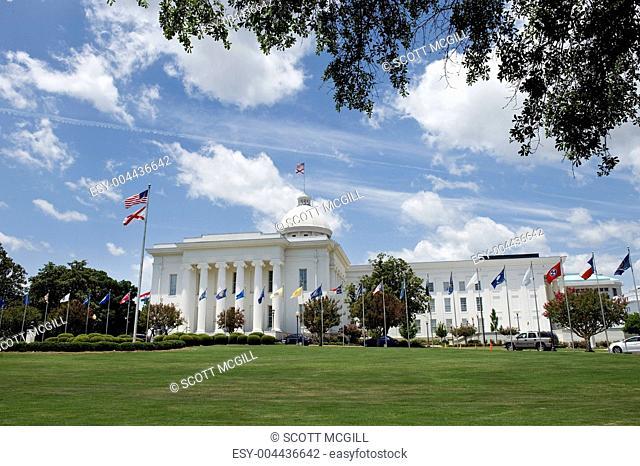 Capital Building in Alabama