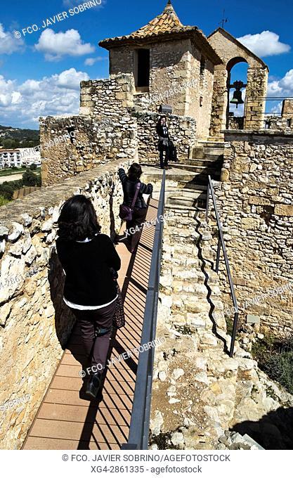 Castillo de la Santa Creu - Calafell - Baix Penedés - Tarragona - Cataluña - España - Europa
