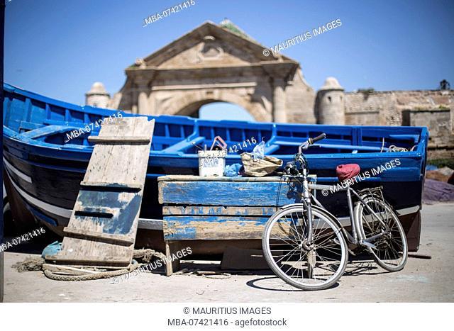 Morocco, in the port of Essaouira