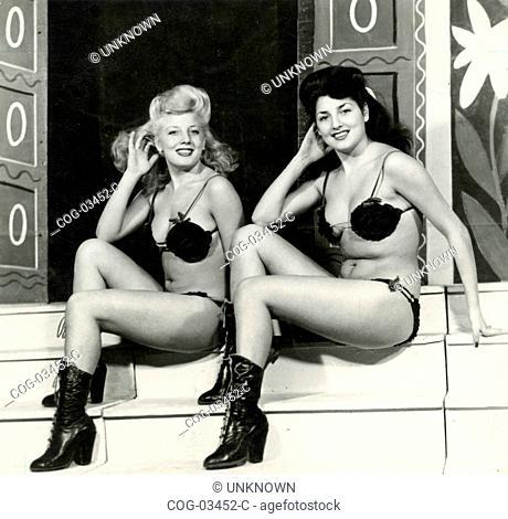 The sisters Posy and Leila Parisi of the company Wanda Osiris, Italy