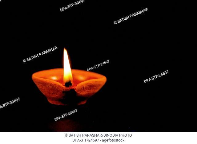 Oil Lamp , Diwali card design , Diwali deepawali Festival
