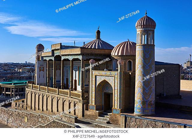 Uzbekistan, Samarkand, Unesco World Heritage, Khuja Khidr mosque
