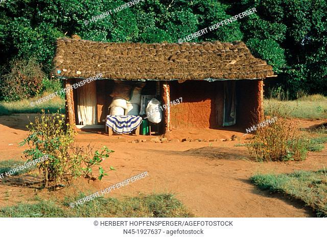 African Hut; Ssese Island; Uganda