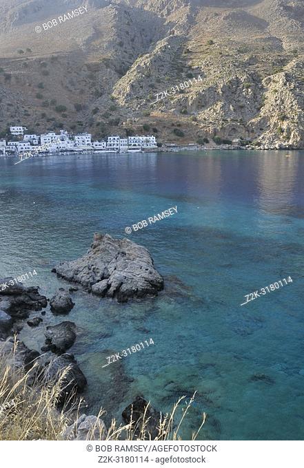 Village of Loutro, the little paradise of Crete