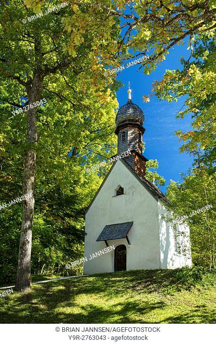Prayer chapel on the grounds of Linderhof Palace, Ettal, Germany