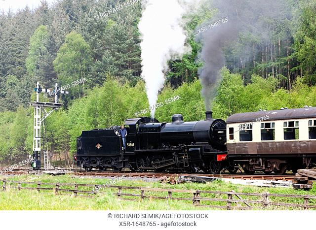 steam train, North Yorkshire Moors Railway NYMR, England